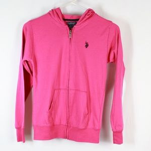 2 for $10  US Polo Assn Girls hoodie 14/16